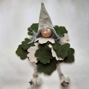Verde Scuro e Beige   Elfo del Bosco