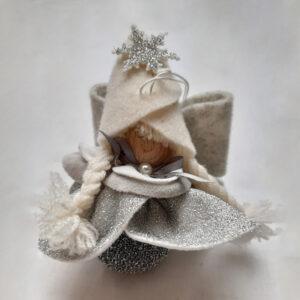 Vestito Argento e Pallina Argento | Fiocco di Neve