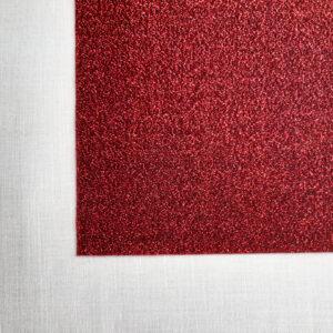 Rosso | Velluto Glitter
