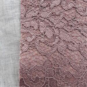 Rosa Antico Glitter | Feltro modellabile pizzo