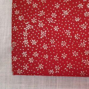Rosso Vivo Fiore   Pannolenci Glitter