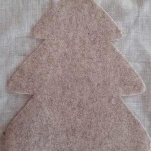 Sabbia | Fustellato Albero di Natale