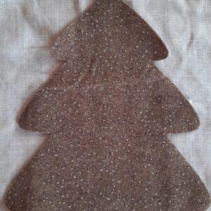 Terra Glitter | Fustellato Albero di Natale
