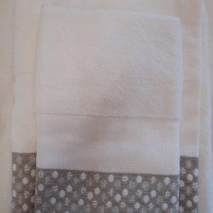 Pois   Asciugamani DMC